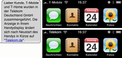 Bitte Provider Logo Nachbessern Telekomde