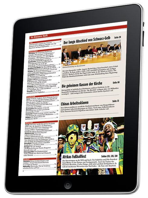 Magazin e paper auf dem ipad lesen fontblog for Spiegel printausgabe