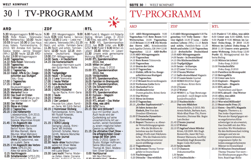 Tv Programm Heute Ab 20 Uhr