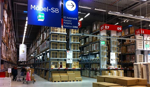 ikea will bessere orientierung im markt fontblog. Black Bedroom Furniture Sets. Home Design Ideas