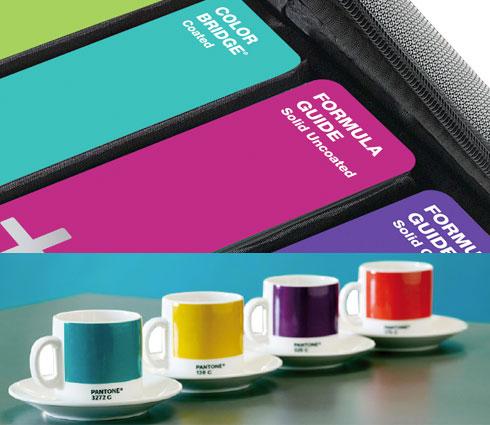 Pantone Tassen der woche volle kanne pantone 4 tassen gratis fontblog