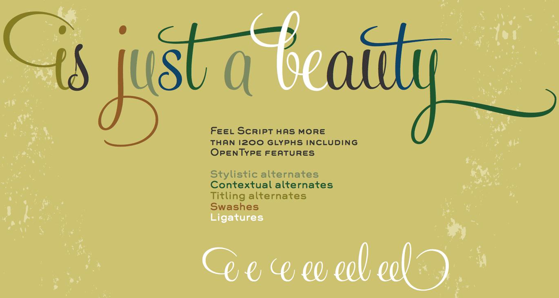 Feel Script bei FontShop