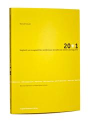 20+1- Vergleich von ausgewählten serifenlosen Schriften