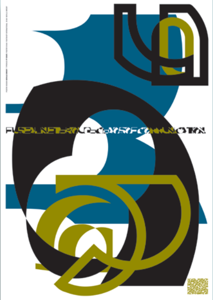 FontShop: FUSE 1: 'State', poster and fonts by Neville Brody