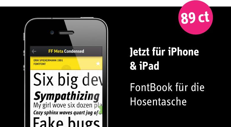 FontShop: FontBook App V. 3