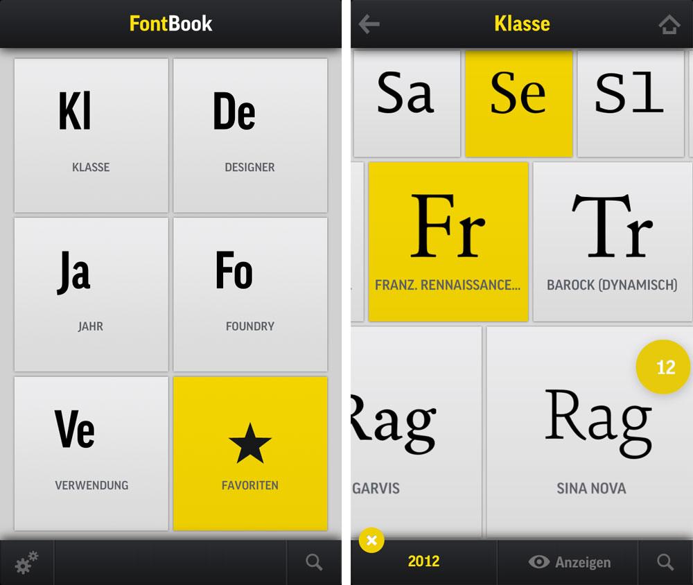Zu iTunes-Seite der FontBook-App