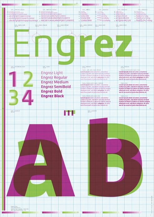 FontShop: Engrez-Sans