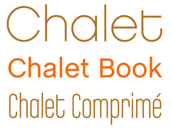 Chalet Familien: Chalet, Chalet Book und Chalet Comprimé