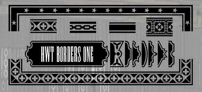 FontShop: HWT Borders1