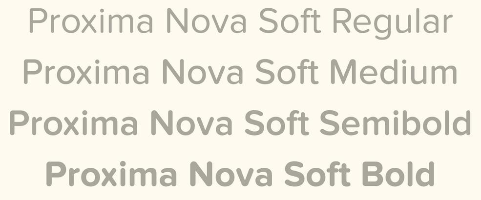 FontShop_Simonson-Proxima Nova Soft Übersicht