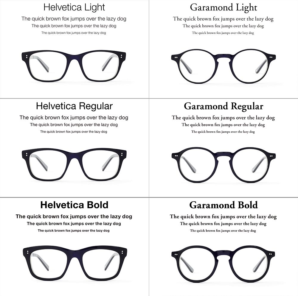 schrift-type-brillen