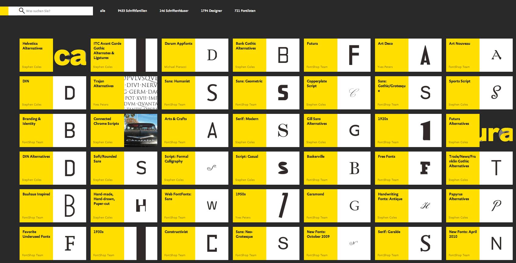 FS.com-Fontlisten