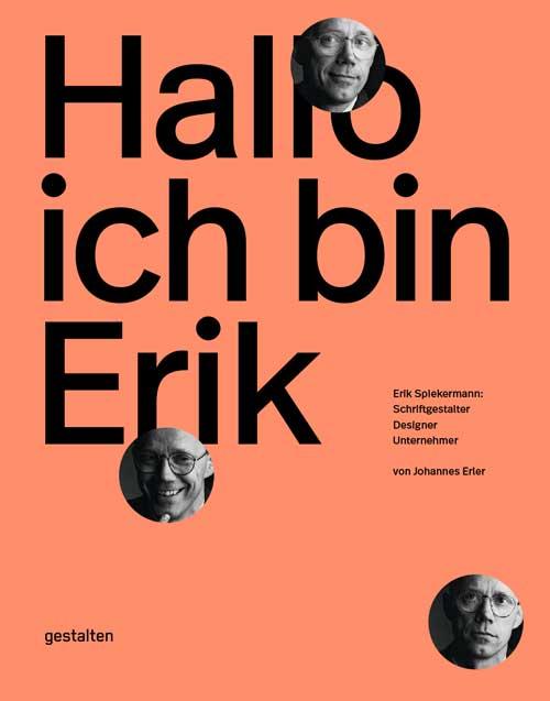Buchtitel ›Hallo ich bin Erik‹, erschienen bei Bestalten Berlin