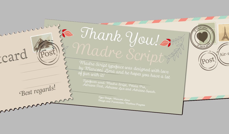 Madre-Script FontShop