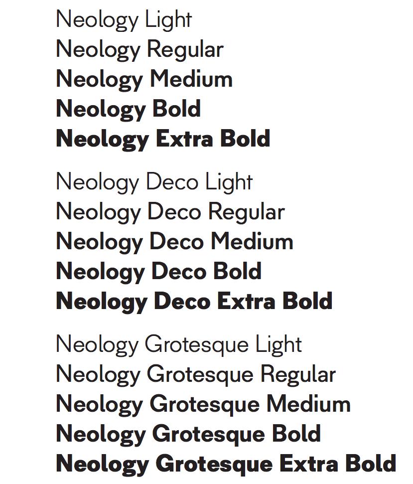 Neology-Fonts