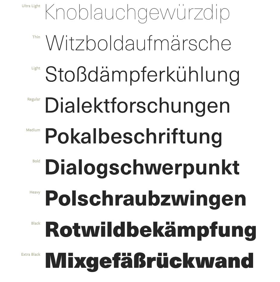 Haas-Unica-Schnitte bei FontShop
