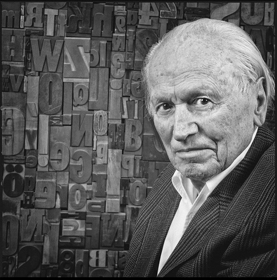 Hermann Zapf 2011, Foto: Jürgen Röhrscheid