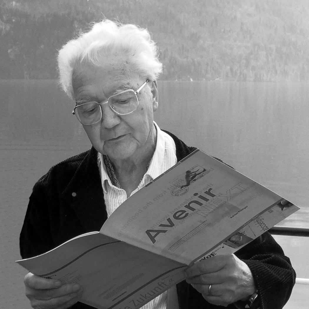 Adrian Frutiger, Interlaken 2004, © Fontblog