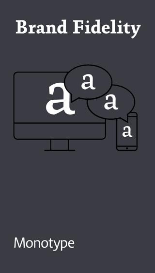 Monotype auf der dmexco