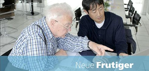 Adrian Frutiger und Akira Kobayashi